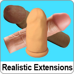 REALISTIC PENIS EXTENSIONS