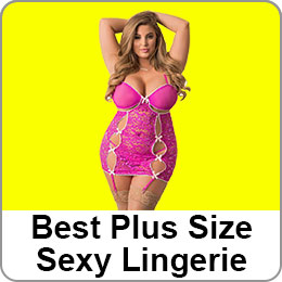 BEST PLUS SIZE SEXY LINGERIE