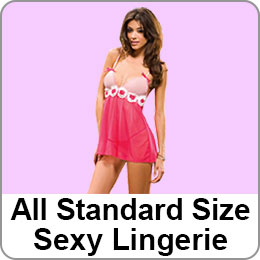 ALL STANDARD SIZE SEXY LINGERIE